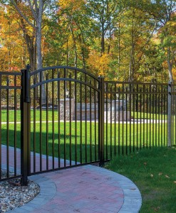 C.) Aluminum Gates, Arbors/Pergolas & Accessories