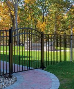 C.) Aluminum Gates, Arbors/Pergolas & Accessories