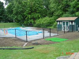 Chain Link Blk Pool 2
