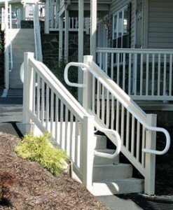 American Deck Rail T Rail Top Rail With Turned