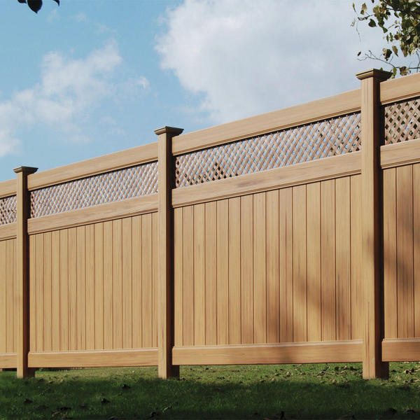 Arrowwood Haven Board And Lattice Heavy Duty Pvc Panel