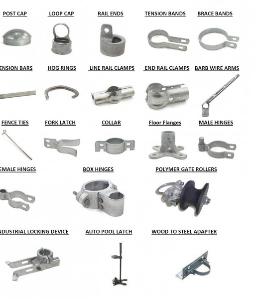 Chain Link Fence Fittings Spaulding Fence Amp Supply