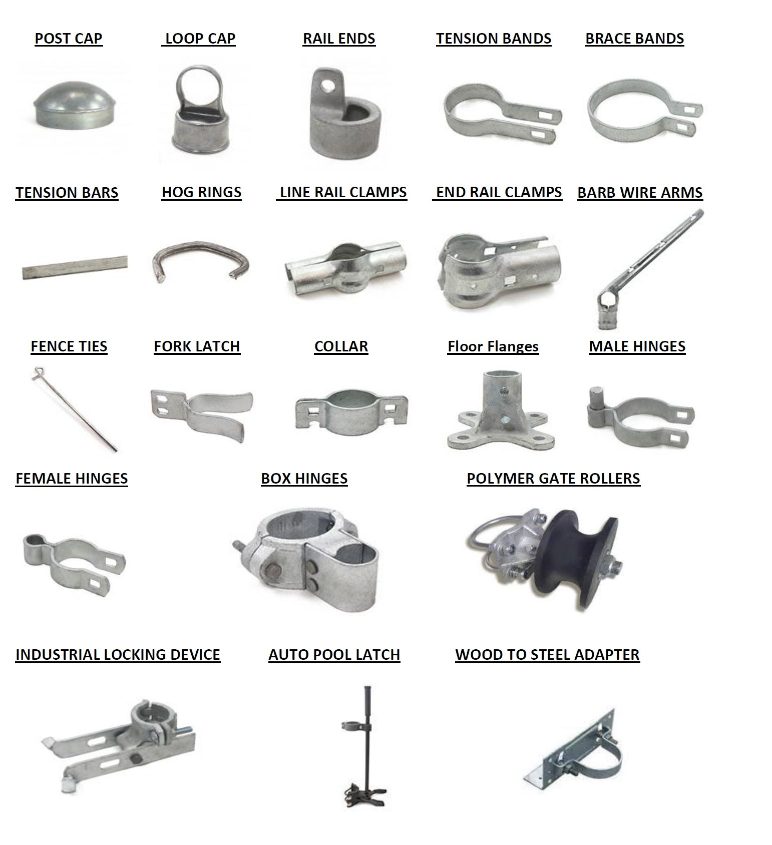 C Misc Chain Link Fence Products Amp Fittings Product
