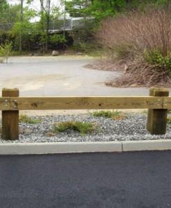 guardrail wood