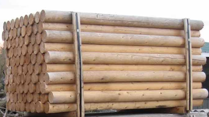 Round Cedar Posts Spaulding Fence Amp Supply