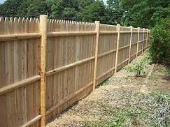Round Cedar Posts | Spaulding Fence & Supply