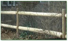 Round Doweled Cedar Post Amp Rail Spaulding Fence Amp Supply