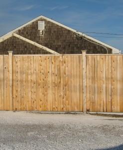 "B.) Cedar ""Board"" Panels"