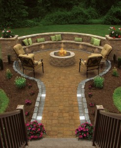 D.) Firepits Fireplaces Columns Lighting and more