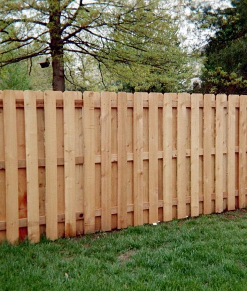 Cedar Shadowbox Fence Spaulding Fence Amp Supply