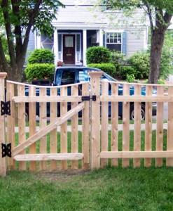 F.) Cedar Gates