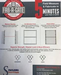 D.) Fab A Gate Kits